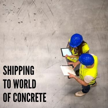 Shipping to World of Concrete