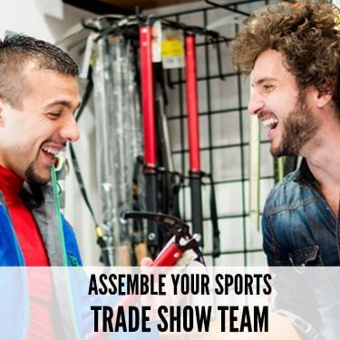 Assemble Your Sports Trade Show Team