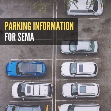Parking Information for SEMA