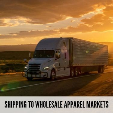 Shipping To Wholesale Apparel Markets