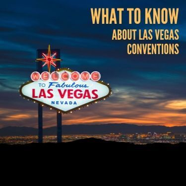 What to Know About Las Vegas Convention Centers