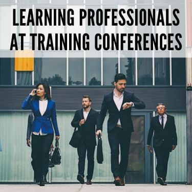 Learning Professionals At Training Conferences