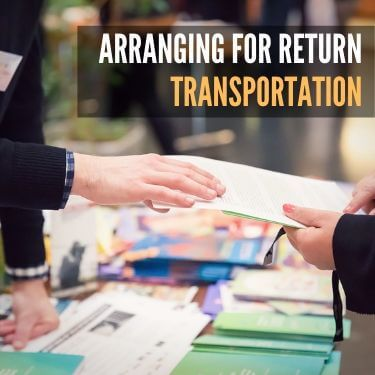 Arranging for Return Transportation