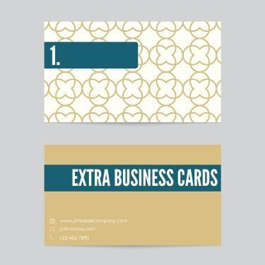 Extra Business Cards