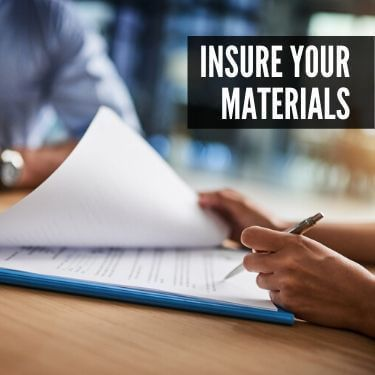 Insure Your Materials