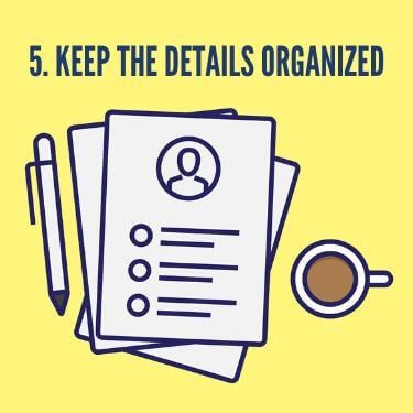 Keep the Details Organized