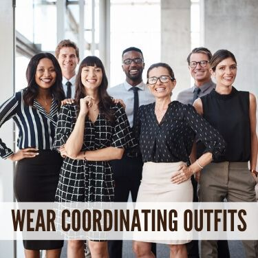 Wear Coordinating Outfits